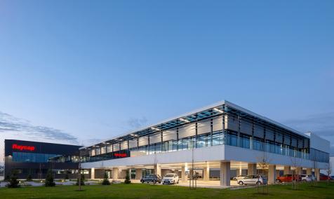 R&D und Produktionskomplex RAYCAP in Komenda