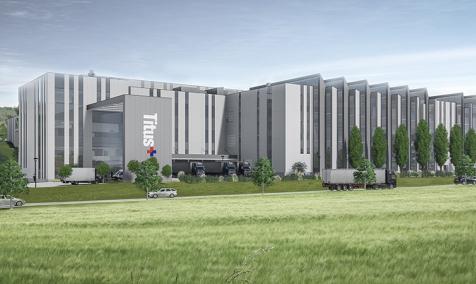 NOVA LAMA manufacturing and warehouse complex in Dekani