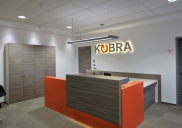 Corporate design concept, interior design and office equipment for KOBRA