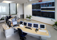 Kontrollzentrum des Energieversorgungsunternehmen ELEKTRO Gorenjska