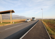 Hotemaže to Olševek road reconstruction in ŠENČUR