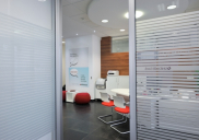 Interior design and office equipment for the UNICREDIT branch office