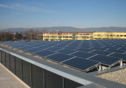 Photovoltaic power plants on roof of HOFER (ALDI-SÜD) retail centres