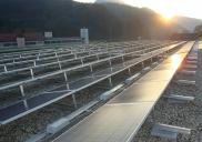 Photovoltaic power plants on roof of HOFER (ALDI-SÜD) retail centres
