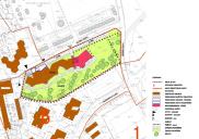 Novellierung des Bebauungsplanes für das Zentrum des Ortes Lesce in der Nähe von RADOVLJICA