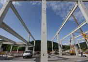 Vertical rack storage for hazardous substances HELIOS