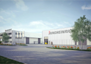 Business und warehouse building JUNGHEINRICH