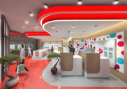 Corporate design concept for a branch office of MTEL Bosnia and Herzegovina