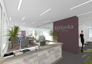 Renovation of the SID BANK (Slovene investment and development bank) premises - concept design