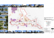 Municipal urban plan for north bypass road at BLED