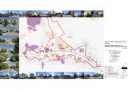 Raum- und Bebauungsplan für die nördliche Umgehungsstraße der Gemeinde BLED