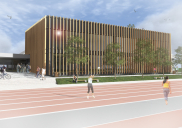 Anbau der Turnhalle der Grundschule NAKLO