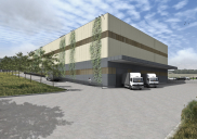 Manufacturing and warehouse building PLEVNIK