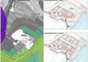 Raum- und Bebauungsplan für die Umwandlung der Kiesgrube Graben in RADOVLJICA in ein neues Gewerbegebiet