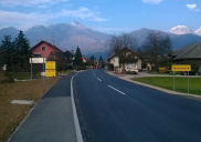 Reconstruction of a part of the state road PREDDVOR - KRANJ