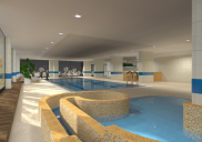 Swimming pool restoration at the LEK HOTEL in Kranjska Gora
