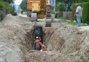 Sewage system network ŠENČUR