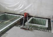 Renovation of the measuring room DANFOSS