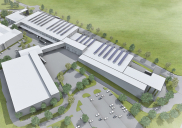 Masterplan / Ciljni načrt za proizvodno-skladiščni kompleks NOVA LAMA v Dekanih