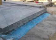 Liquid discharge platform at the Sinteza 3 building HELIOS