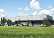 Manufacturing-warehouse-administrative building ELTAS in Šentjernej
