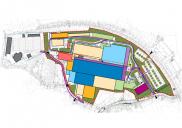 Masterplan / Ciljni načrt za proizvodno-skladiščno-poslovni kompleks LIP BLED