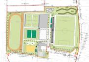 Layoutplanung des Sportparks ŠENČUR