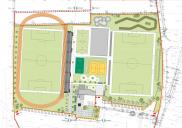 Idejna zasnova ureditve Športnega parka ŠENČUR
