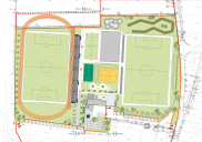 Concept design for the Sports park ŠENČUR