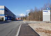 Infrastrukturerschließung im Gebiet des Gewerbeparks OPC ŠENČUR