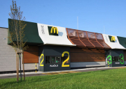 McDONALD'S restaurant and McDRIVE in Kranj
