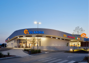 Extension of the shopping center QLANDIA in Kranj