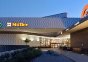 Extension of the shopping center QLANDIA in Kranj
