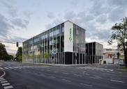 KRKA pharmaceutical company administrative building in Ljubljana