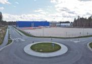 Infrastruktur und Verkehr des GEWERBEGEBIETS L8 am Airport Ljubljana