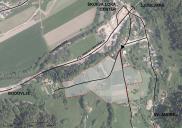 Raum- und Bebauungsplan für die Wohnanlage Livada Žovšče in ŠKOFJA LOKA
