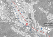 Masterplan for the placement of the REGIONAL HOSPITAL for the Gorenjska region in Radovljica