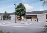 Umbau der Trauer- und Abschiedsräume und des Pastoralhauses in RETEČE
