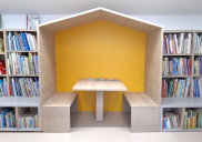 NAKLO LOCAL LIBRARY interior design and equipment