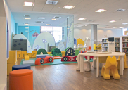 Concept and detailed design of the Children's Corner at the KRANJ CITY LIBRARY