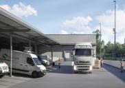 Širitev logističnega centra SALUS