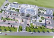 Office-retail center in ŽIROVNICA