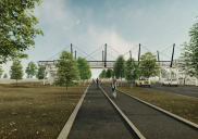 Most za pešce in kolesarje v Kopru