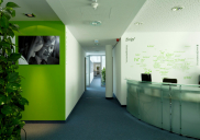 Interior design and office equipment for PWC PricewaterhouseCoopers in Ljubljana