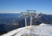 Six seat chairlift Vrh Krvavca Ski Resort KRVAVEC