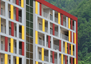Business-retail-residential building RONDO