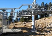 Four seat chairlift Tiha dolina Ski Resort KRVAVEC