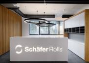 Interier in notranja oprema proizvodno-poslovnega objekta SchäferRolls
