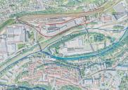 Raum- und Bebauungsplan für Gewerbe und Logistikpark Kolodvor