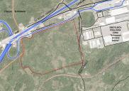 Lageplanänderung für das Gewerbegebiet Sežana Südwest